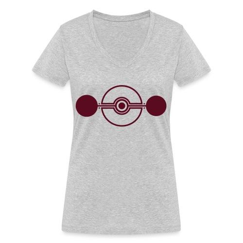 Cropcircle - Kornkreis Cooksplantation - Frauen Bio-T-Shirt mit V-Ausschnitt von Stanley & Stella