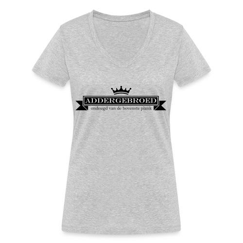 Addergebroed - Vrouwen bio T-shirt met V-hals van Stanley & Stella