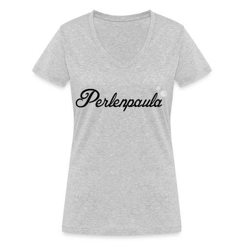 Perlenpaula - Frauen Bio-T-Shirt mit V-Ausschnitt von Stanley & Stella