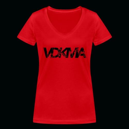 vdkma x 130 x spörts - Stanley & Stellan naisten v-aukkoinen luomu-T-paita