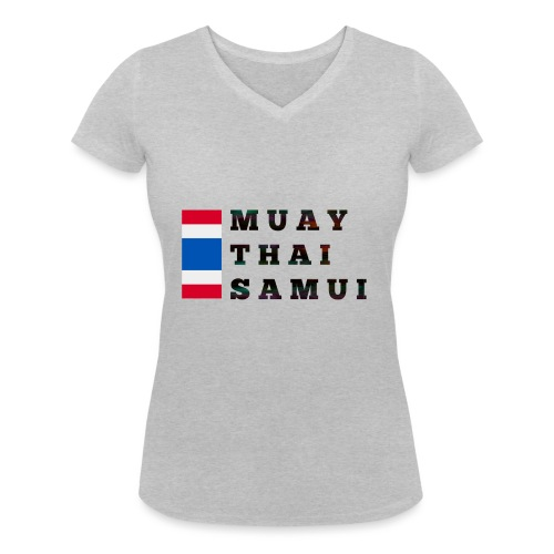 Logopit 1522880585512 1 - T-shirt bio col V Stanley & Stella Femme