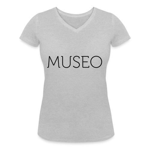 museo - Women's Organic V-Neck T-Shirt by Stanley & Stella