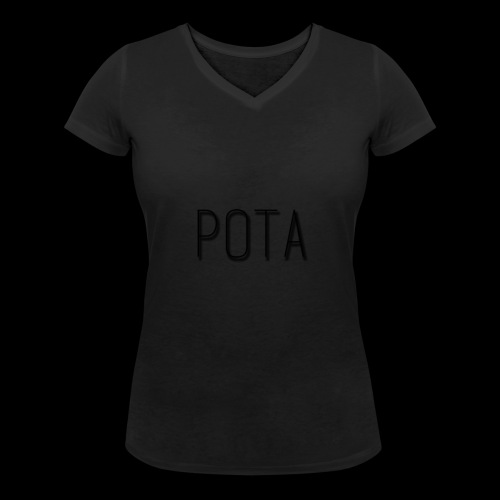 pota2 - T-shirt ecologica da donna con scollo a V di Stanley & Stella