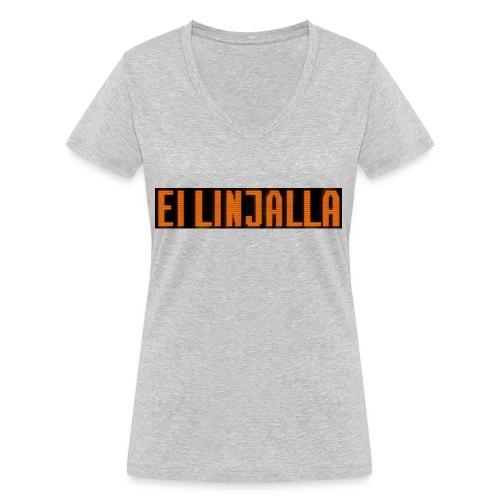 EI LINJALLA - Stanley & Stellan naisten v-aukkoinen luomu-T-paita