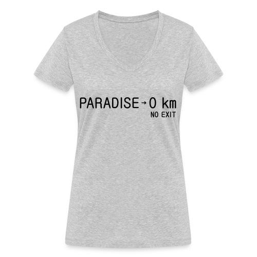 paradise0km - Frauen Bio-T-Shirt mit V-Ausschnitt von Stanley & Stella