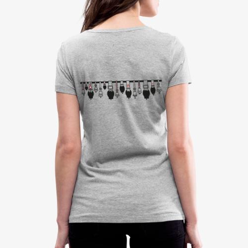 Glockenstolz - Frauen Bio-T-Shirt mit V-Ausschnitt von Stanley & Stella