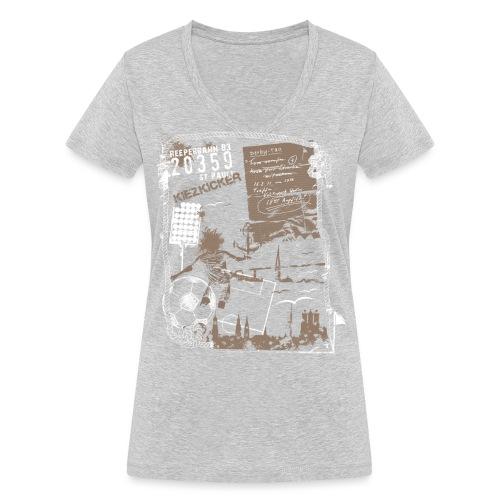 Spieltag - Frauen Bio-T-Shirt mit V-Ausschnitt von Stanley & Stella