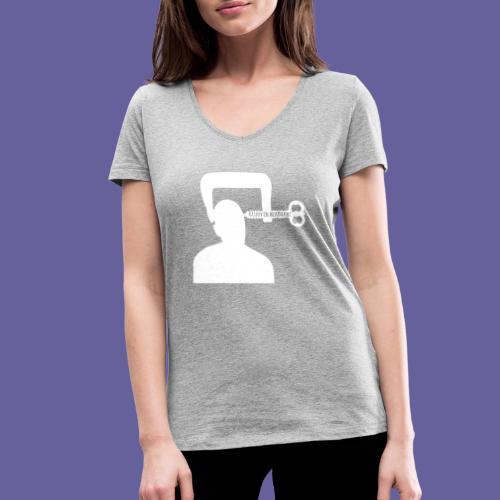 Cluster headache in een bankschroef - T-shirt bio col V Stanley & Stella Femme