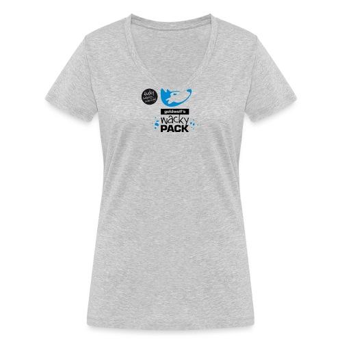 wackypack - Frauen Bio-T-Shirt mit V-Ausschnitt von Stanley & Stella