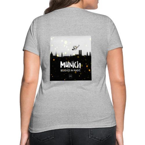 MUNICH BELIEVES - Frauen Bio-T-Shirt mit V-Ausschnitt von Stanley & Stella