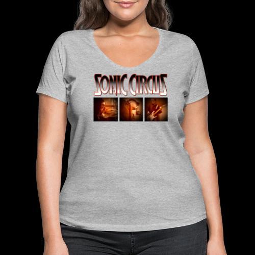 SC Shirt Front png - Frauen Bio-T-Shirt mit V-Ausschnitt von Stanley & Stella