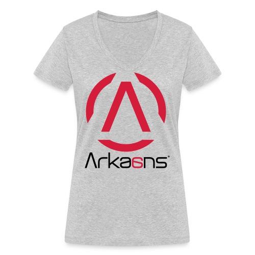 Arkaans Global - T-shirt bio col V Stanley & Stella Femme