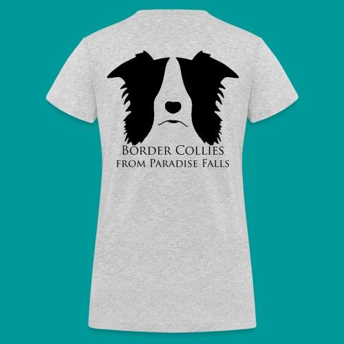 logopf_black1 - Frauen Bio-T-Shirt mit V-Ausschnitt von Stanley & Stella