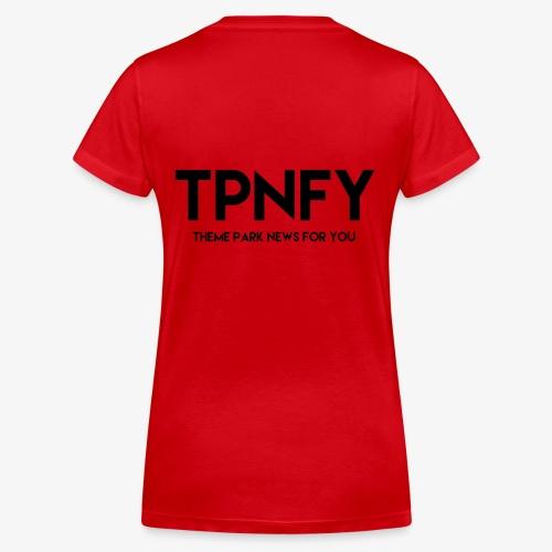 TPNFY - Women's Organic V-Neck T-Shirt by Stanley & Stella