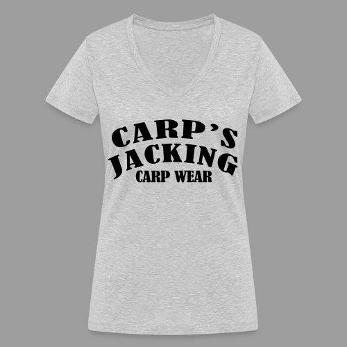 Carp's griffe CARP'S JACKING - T-shirt bio col V Stanley & Stella Femme
