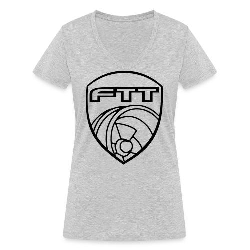 FTT Turbowappen 2k15 - Frauen Bio-T-Shirt mit V-Ausschnitt von Stanley & Stella