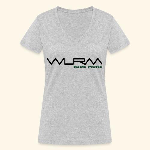 WLRM Schriftzug black png - Frauen Bio-T-Shirt mit V-Ausschnitt von Stanley & Stella