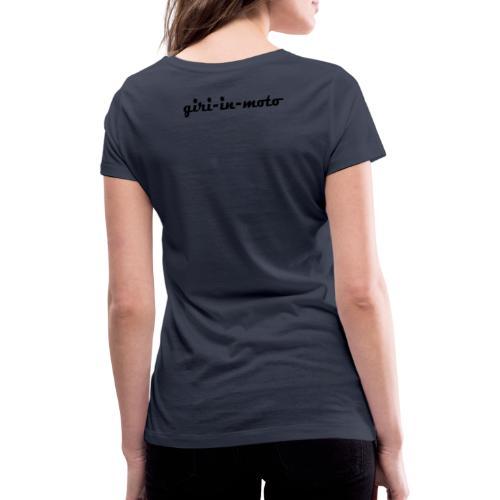 GIRI IN MOTO LIFESTYLE RACING NERO - T-shirt ecologica da donna con scollo a V di Stanley & Stella
