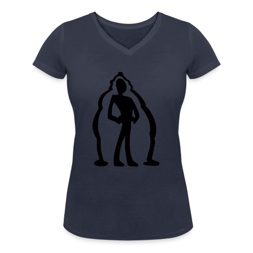logo2 - Ekologisk T-shirt med V-ringning dam från Stanley & Stella