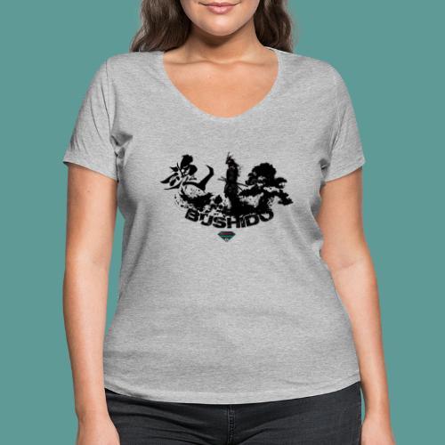 Mutagene Bushido - T-shirt bio col V Stanley & Stella Femme