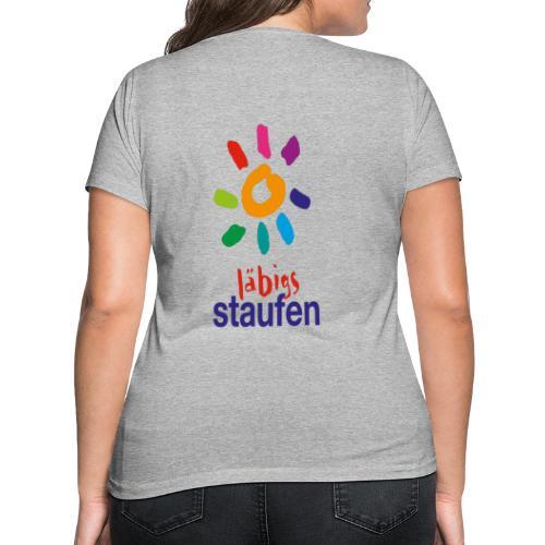 Läbigs Staufen - Frauen Bio-T-Shirt mit V-Ausschnitt von Stanley & Stella