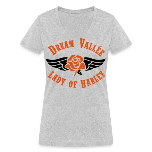 NEW-LOGO-DVCF-2 - T-shirt bio col V Stanley & Stella Femme