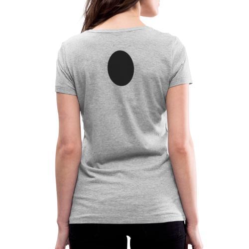 Trou Noir - T-shirt bio col V Stanley & Stella Femme