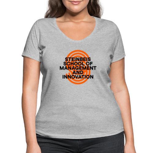 SUPERSIGN + SCHRIFTZUG - Frauen Bio-T-Shirt mit V-Ausschnitt von Stanley & Stella