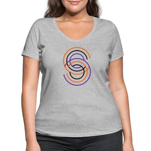 SUPERSIGN - Frauen Bio-T-Shirt mit V-Ausschnitt von Stanley & Stella