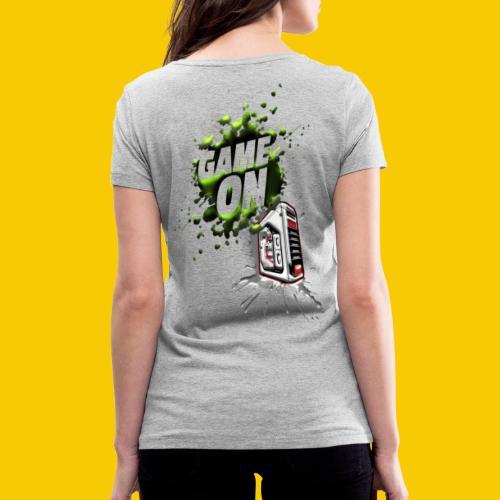 GAMEONE - T-shirt bio col V Stanley & Stella Femme