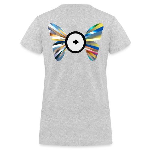Butterfly Trans-Evolution - T-shirt ecologica da donna con scollo a V di Stanley & Stella