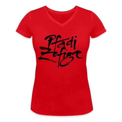 pfadi zofige - Frauen Bio-T-Shirt mit V-Ausschnitt von Stanley & Stella