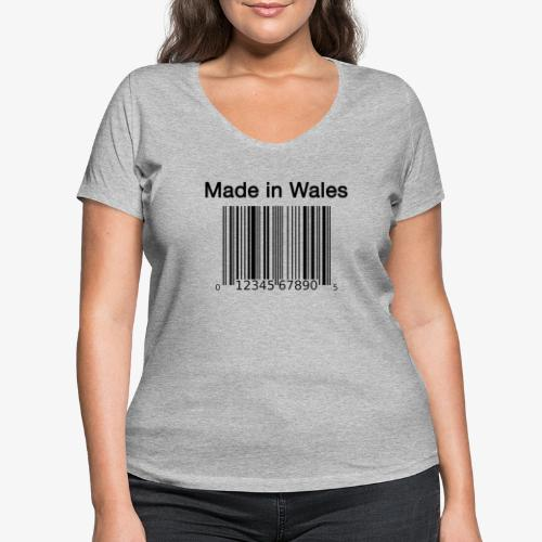 Made in Wales - Women's Organic V-Neck T-Shirt by Stanley & Stella