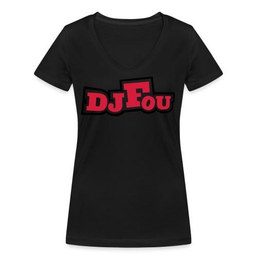 logofou - T-shirt bio col V Stanley & Stella Femme