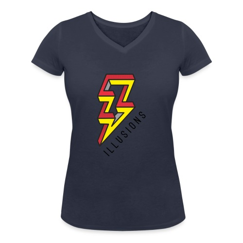 ♂ Lightning - Frauen Bio-T-Shirt mit V-Ausschnitt von Stanley & Stella
