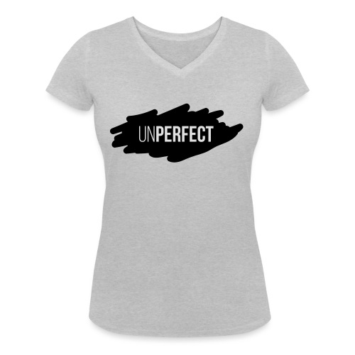 UNPERFECT LOGO 2 - Frauen Bio-T-Shirt mit V-Ausschnitt von Stanley & Stella