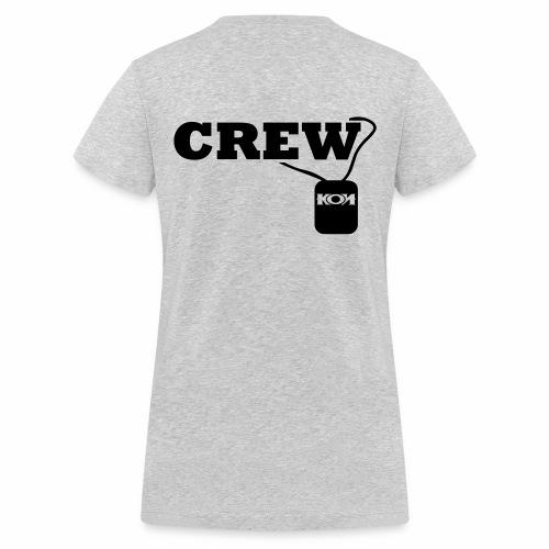 KON - Crew - Frauen Bio-T-Shirt mit V-Ausschnitt von Stanley & Stella