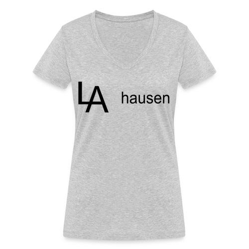la hausen - Frauen Bio-T-Shirt mit V-Ausschnitt von Stanley & Stella