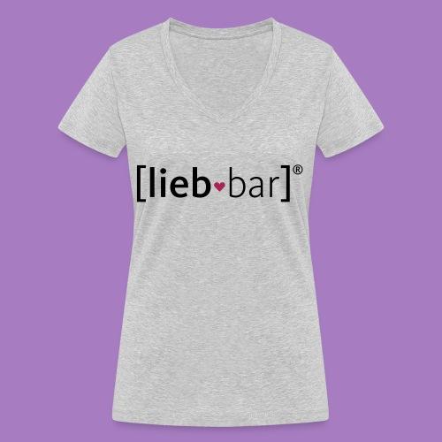 liebbar_vektorgrafik - Frauen Bio-T-Shirt mit V-Ausschnitt von Stanley & Stella