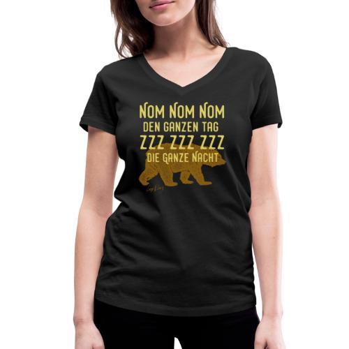 NomNom-Summer - Frauen Bio-T-Shirt mit V-Ausschnitt von Stanley & Stella