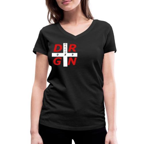 DRGN LOGO1 - Frauen Bio-T-Shirt mit V-Ausschnitt von Stanley & Stella