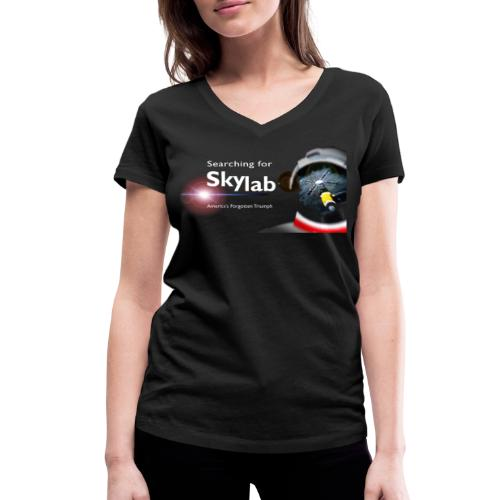 Searching for Skylab - Official Design - Women's Organic V-Neck T-Shirt by Stanley & Stella