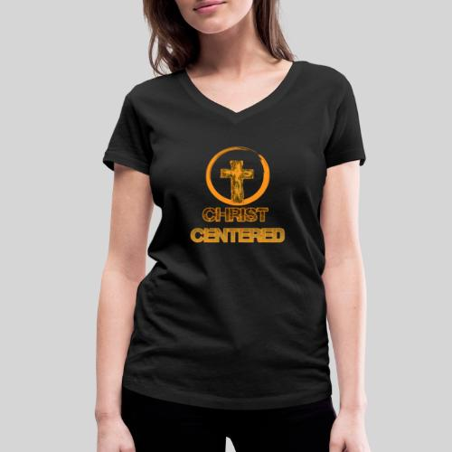 Christ Centered Focus on Jesus - Frauen Bio-T-Shirt mit V-Ausschnitt von Stanley & Stella