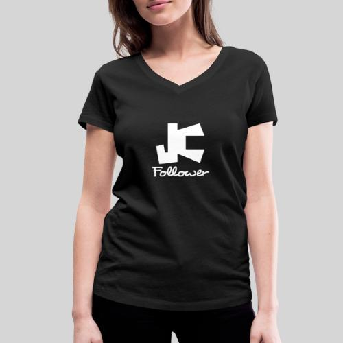 JC Follower - Nachfolger Jesu Christi - Frauen Bio-T-Shirt mit V-Ausschnitt von Stanley & Stella