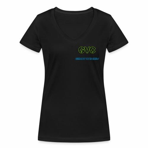 GVC Logo - Frauen Bio-T-Shirt mit V-Ausschnitt von Stanley & Stella