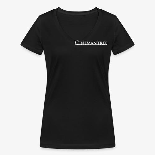 Cinemantrix - Ekologisk T-shirt med V-ringning dam från Stanley & Stella