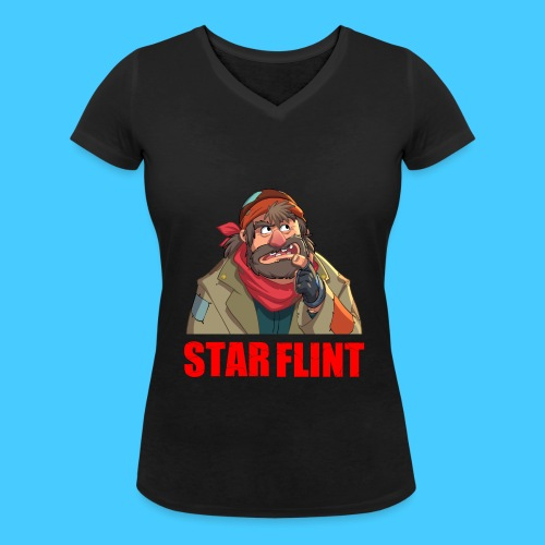 Roi des clochards - T-shirt bio col V Stanley & Stella Femme