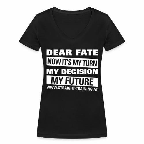 Decision Future - Frauen Bio-T-Shirt mit V-Ausschnitt von Stanley & Stella