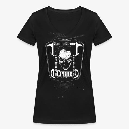 Skull Dark - Frauen Bio-T-Shirt mit V-Ausschnitt von Stanley & Stella