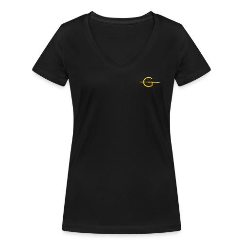G Logo - Women's Organic V-Neck T-Shirt by Stanley & Stella